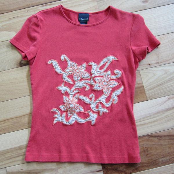 Sacola reciclada de camiseta