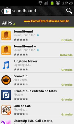 Sound Hound Android