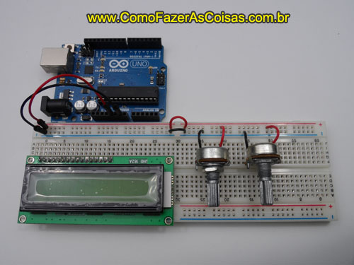 Arduino com display LCD