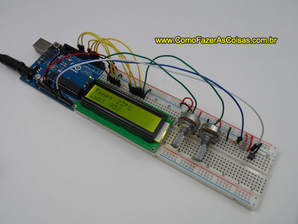 Arduino e display lcd