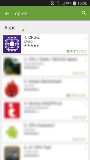 CPU-Z android app