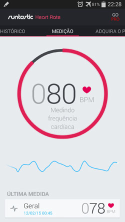 App heart rate