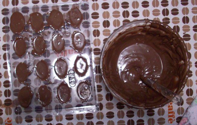 Como Fazer Um Mini Ovo De Páscoa De Chocolate