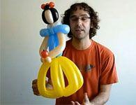 Como fazer a branca de neve de escultura de bal�o