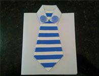 Cart�o artesanal especial para o Dia dos Pais