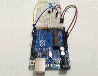 Projeto Arduino, led com botão liga desliga.