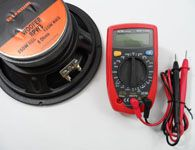 Como medir a imped�ncia de um alto-falante com mult�metro