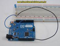 Projeto Arduino, Como piscar um led com efeito fader.