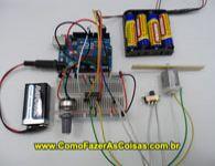 Motor CC/DC no Arduino. Controle de velocidade e sentido da rota��o