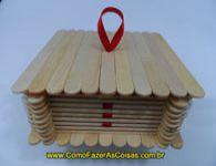 Como fazer um porta j�ias artesanal com palitos de picol�