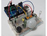 Como fazer um Alarme com Arduino e sensor de movimentos PIR.