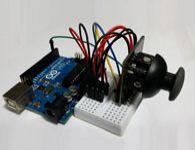 Como ligar um joystick no Arduino e ler as posi��es X, Y e Z