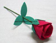Como fazer uma linda flor ou rosa de eva para presentear no dia das m�es, dia dos namorados...