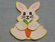 Como fazer um lindo coelho da p�scoa de EVA